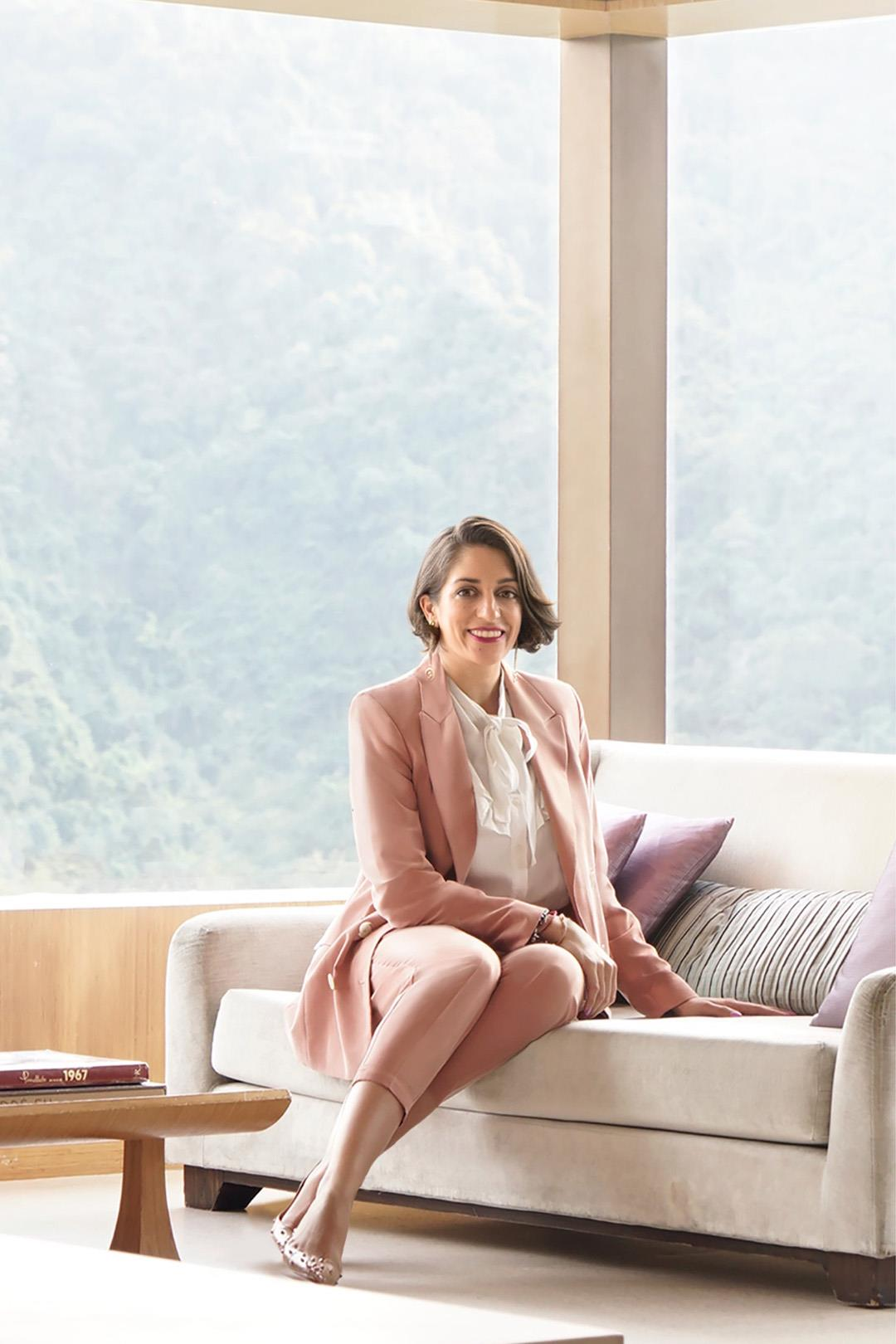Kristina Snaith-Lense , the hotel manager of The Upper House from Swire Hotels