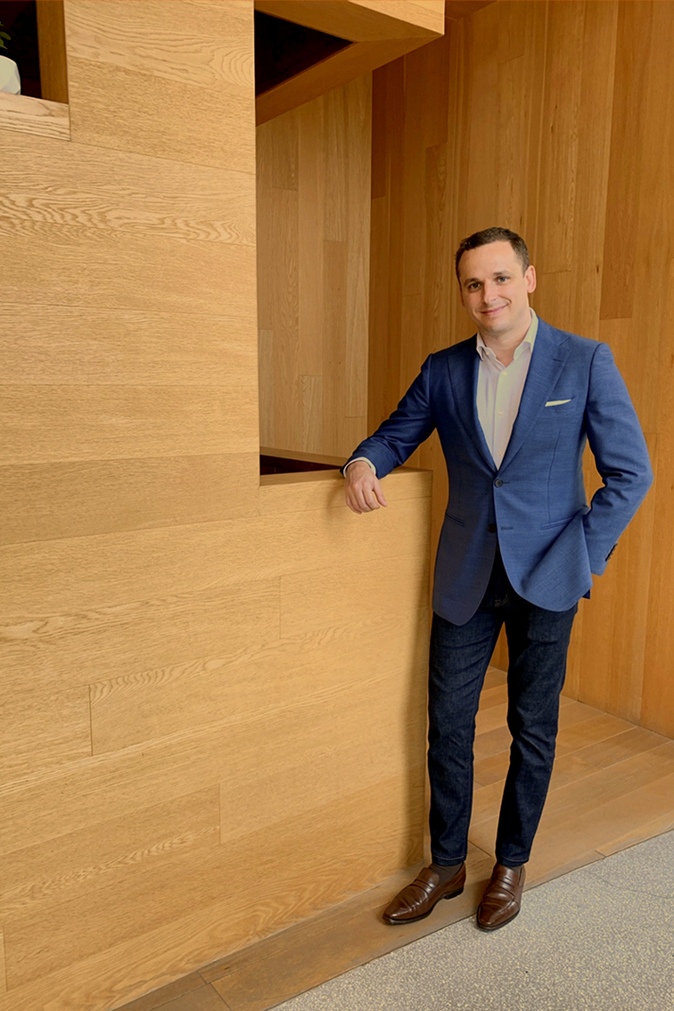 Mark Passmore, the general manager of The Opposite House from Swire Hotels
